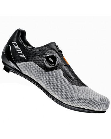 DMT KR4 Scarpe Strada Uomo, Black/Silver