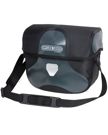 Ortlieb Ultimate Six Classic F3124 Handlebar Bag 7 Liters, Asphalt/Black