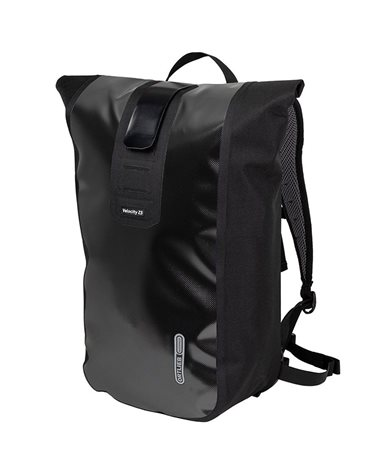 Ortlieb Velocity Cycling Waterproof Backpack 23 Liters, Black
