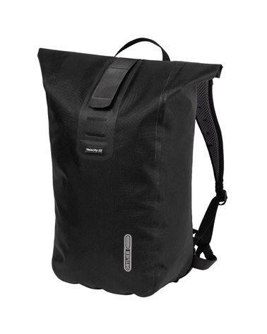 Ortlieb Velocity PS Cycling Waterproof Backpack 23 Liters, Black