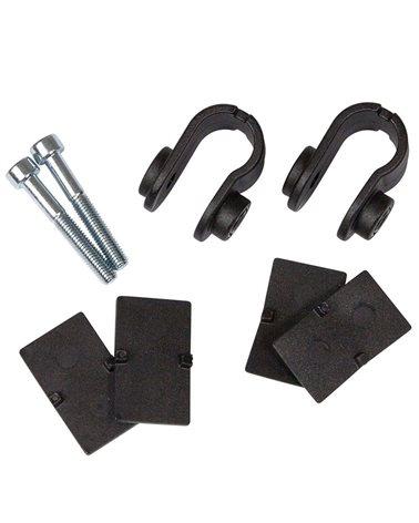 Ortlieb E190 Kit Fascette per Portapacchi con Tubi da 11-14mm Sistemi QL3 e QL3.1