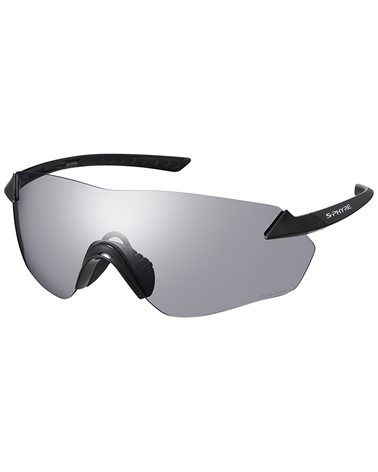 Shimano S-Phyre CE-SPHR1-PH Cycling Glasses, Black/Photochromic D Gray + Ridescape CL (N0) Spare Lens