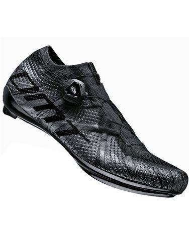 DMT KR1 Scarpe Strada Uomo, Black/Black Reflective