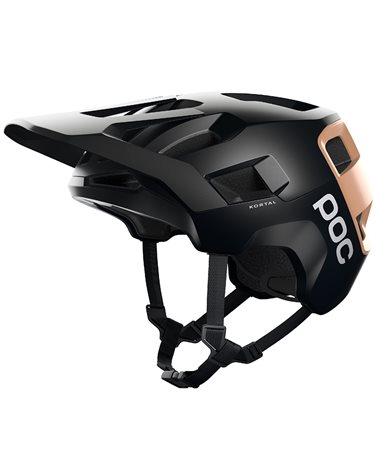 Poc Kortal MTB Helmet, Uranium Black/Light Citrine Orange Matt