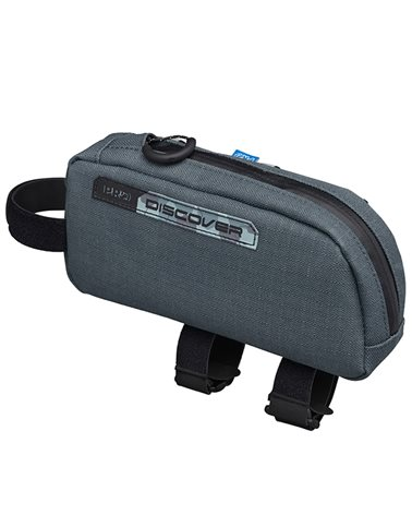 Pro Discover Waterproof Top Tube Frame Bag 0.75 Liters, Gray