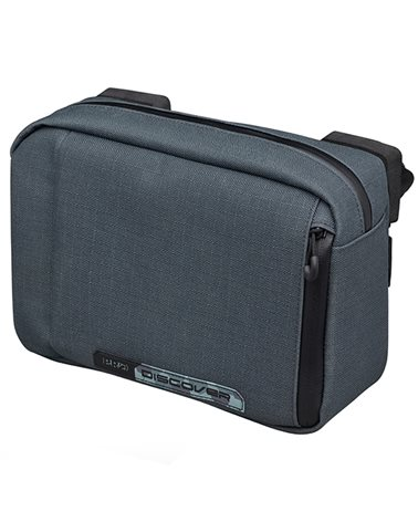 Pro Discover Waterproof Handlebar Bag Small 2.5 Liters, Gray