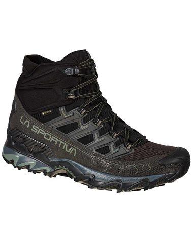 La Sportiva Ultra Raptor II MID GTX Gore-Tex Men's Speed Hiking Shoes, Black/Clay