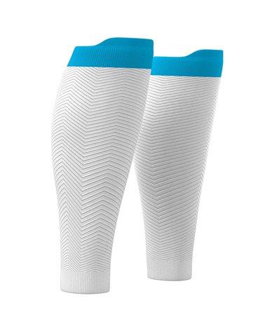 Compressport R2 Oxygen Compression Calf Sleeves, White