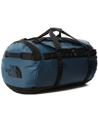 The North Face Base Camp Duffel L - 95 Liters, Monterey Blue\TNF Black