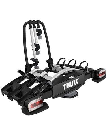Thule Velocompact 3 927 7-pin Towbar Bike Rack, Alu/Black (3 Bikes)