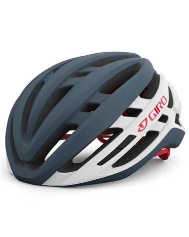 Giro Agilis MIPS Raod Helmet, Matte Portaro Grey/White/Red