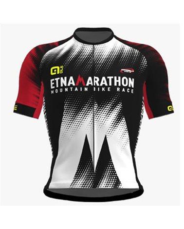 Etna Marathon 2020 Men's Full Zip Cycling Short Sleeve Jersey