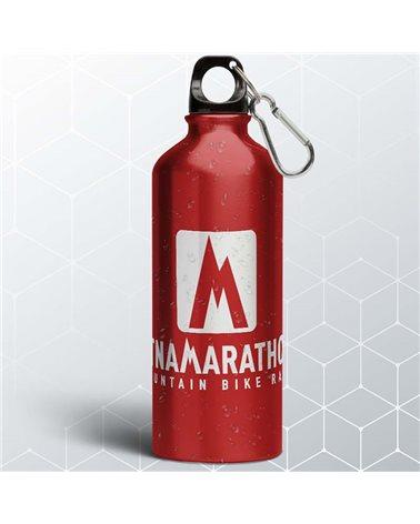 Etna Marathon Borraccia in Alluminio con Moschettone