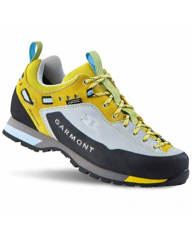 Garmont Dragontail LT GTX Gore-Tex Women's Trekking Shoes, Light Blue/Lemon
