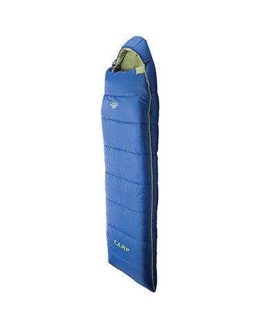 Camp Tuareg Sleeping Bag -6° Left Zip, Light Blue/Lime