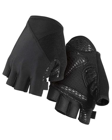 Assos SummerGloves-S7 Guanti Estivi Ciclismo, Black Series