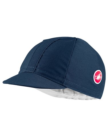 Castelli Italia 2.0 Cotton Cycling Cap, Dark Infinity Blue