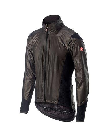 Castelli Idro Pro 2 GTX Gore-Tex Waterproof Men's Cycling Jacket, Black