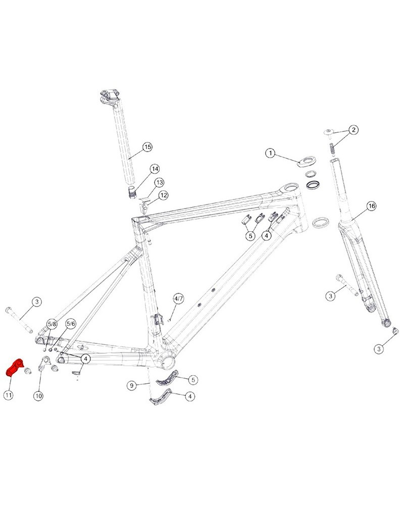 BMC Derailleur Hanger n.59 - 301093