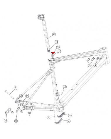 BMC Cover Morsetto Reggisella - 301270