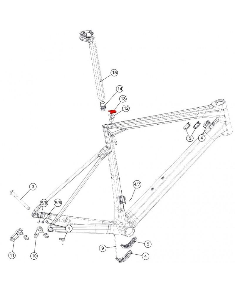 BMC Seatpost Clamp Cover - 301270