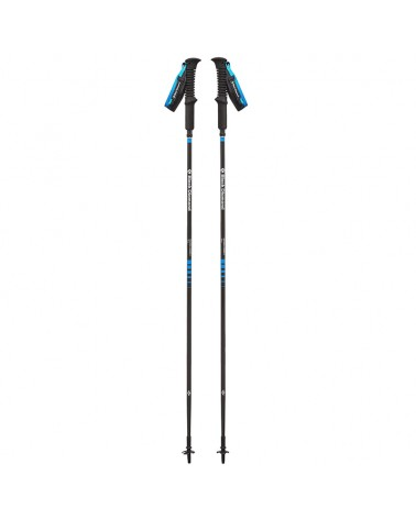 Black Diamond Distance Carbon Z Z-Poles 130 cm Bastoncini da Trekking/Running, Ultra Blue