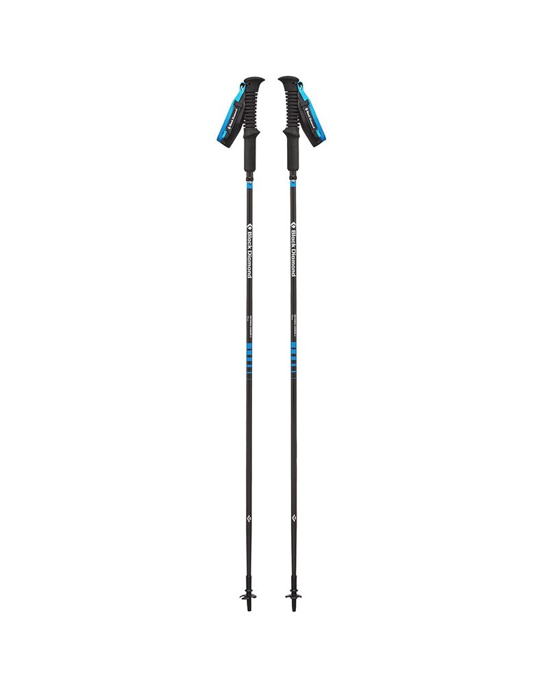 Black Diamond Distance Carbon Z Z-Poles 130cm, Ultra Blue