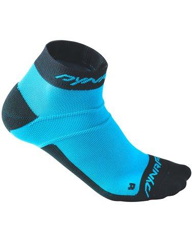 Dynafit Vertical Mesh Footie Calze Trail Running, Methyl Blue/0980