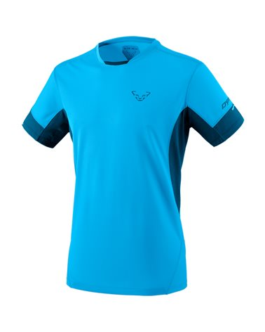 Dynafit Vertical 2.0 T-Shirt Men's Trail Running Short Sleeve Tee, Frost/8810