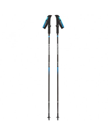 Black Diamond Distance Carbon Z Z-Poles 120 cm Bastoncini da Trekking/Running, Ultra Blue