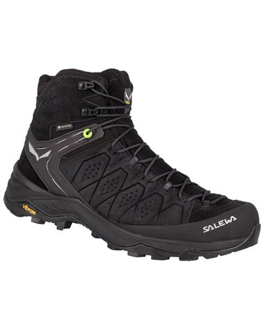 Salewa MS Alp Trainer 2 Mid GTX Gore-Tex Men's Trekking Boots, Black/Black