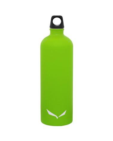 Salewa Isarco Lightwight Stainless Steel Bottle 1 Liter, Fluo Green
