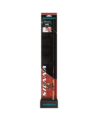 "Shimano Sienna 2,69m/8'10""28-84g + Sienna 4000FG Mono 0,330mm Spinning Fishing Reel and Rod"