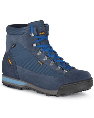Aku Slope Micro GTX Gore-Tex Men's Trekking Boots, Denim/Blue