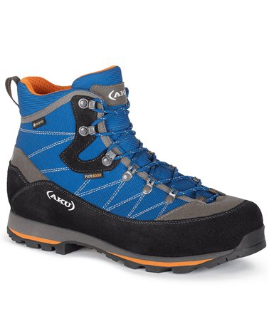 Aku Trekker Lite III GTX Gore-Tex Men's Trekking Boots, Blue/Orange