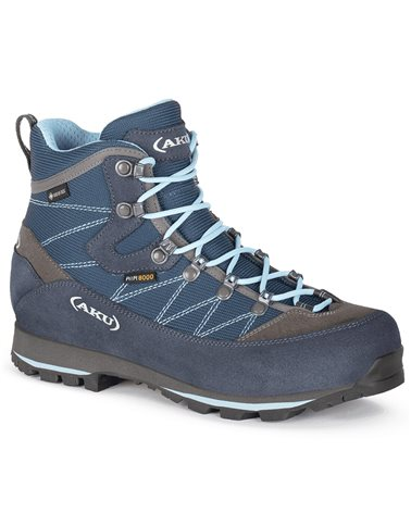 Aku Trekker Lite III GTX Gore-Tex Women's Trekking Boots, Denim/Light Blue