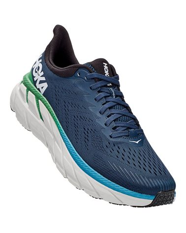 Hoka One One Clifton 7 Men's Running Shoes, Moonlit Ocean/Anthracite