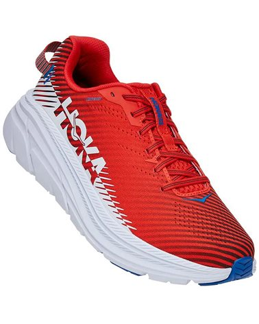 Hoka One One Rincon 2 Men's Running Shoes, Fiesta/Turkish Sea