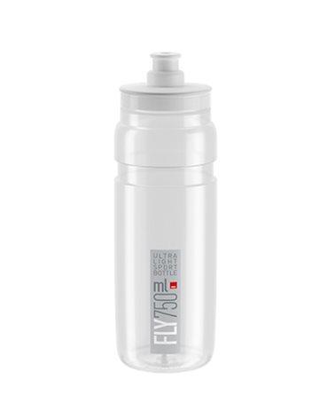 Elite Bottle Fly 750ml, Clear Logo Grey