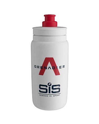 Elite Fly Water Bottle Team Granadier White 2021 550ml