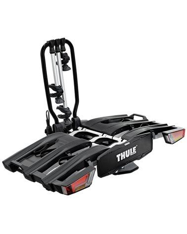 Thule Easyfold XT 3 934 13 Pin Plug Foldable Towbar Bike Rack, Aluminum/Black (3 Bikes)