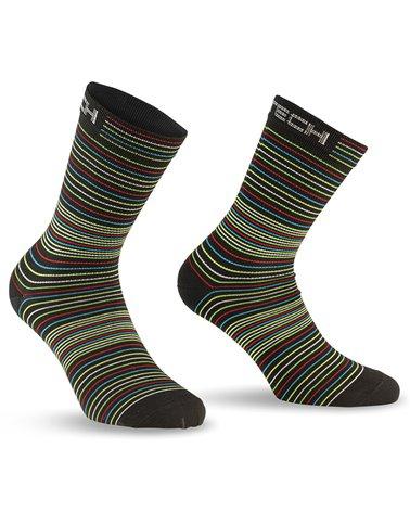 XTech XT182 Cycling Socks, Multicolor