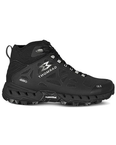 Garmont 9.81 N-AIR-G 2.0 MID GTX Gore-Tex Surround Scarponi Uomo, Nero