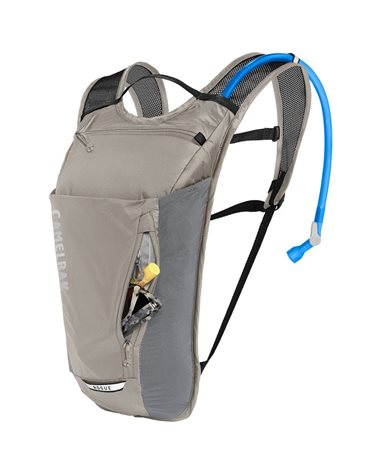Camelbak Rogue Light 7 Liters Cycling Hydration Pack, Aluminum/Black (2 Liters Crux Reservoir Included)