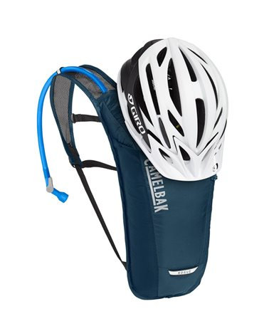 Camelbak Rogue Light 7 Liters Cycling Hydration Pack, Gibraltar Navy/Black (2 Liters Crux Reservoir Included)