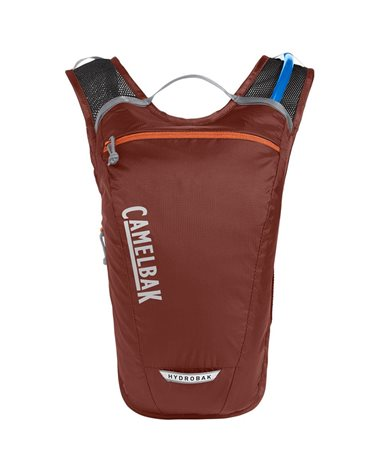 Camelbak Hydrobak Light 2.5 Liters Cycling Hydration Pack, Fired Brick/Koi (1.5 Liters Crux Reservoir Included)