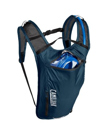 Camelbak Classic Light 4 Liters Cycling Hydration Pack, Gibraltar Navy/Black (2 Liters Crux Reservoir Included)