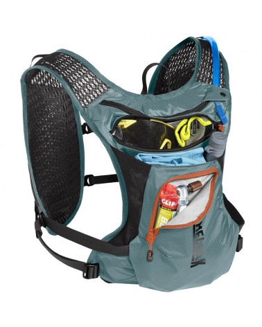 Camelbak Chase 4 Liters Cycling Hydration Vest Pack, Atlantic Teal/Black (1.5 Liters Crux Reservoir Included)