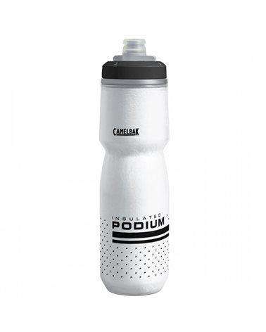 Camelbak Podium Chill Insulated 710 ml/24oz Borraccia Termica, White/Black