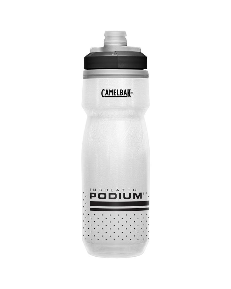 Camelbak Podium Chill Insulated 620 ml/21oz Water Bottle, White/Black